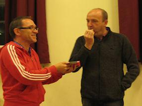 Mr Pitcher's malteser eating World Record attempt