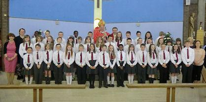 The Confirmation children of 2012.