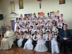 First Holy Communion Group 2014.
