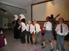 Our pupils dance to jazz-funk