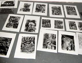 The finished prints