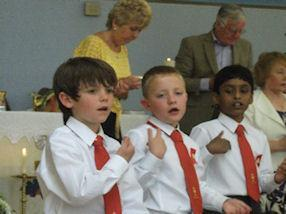 Actions to our Communion Hymn 'Bread of Life'.
