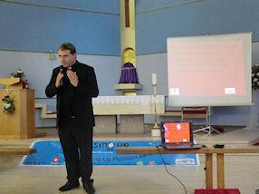 Father John ended our celebration with a prayer