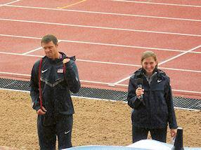 Two of the 2012 American team.
