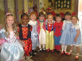Everyone enjoyed dancing at the Storyland Ball.