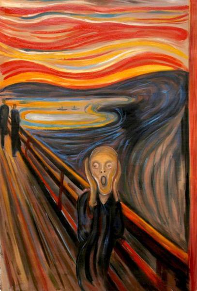 Created by Edvard Munch in 1893.