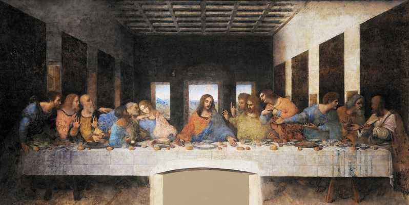 Created by Leonardo da Vinci from 1495 to 1498.