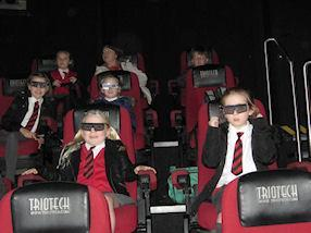 We had fun watching the 4D Chocolate Adventure