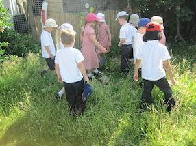 We're going on a bear hunt. Oh no! Long wavy grass