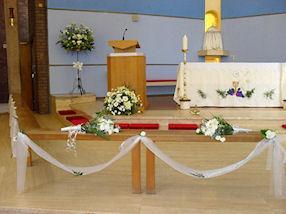 Our Church, beautifully decorated.