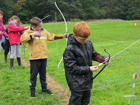 We loved archery.