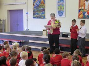 We will miss you, mrs Aulton. Good luck!