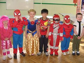 We enjoyed showing off our fantastic costumes.