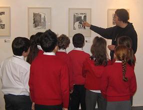 Brendan shows his work
