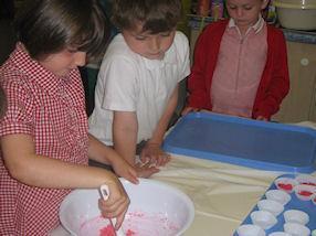We enjoyed making Divali sweets.