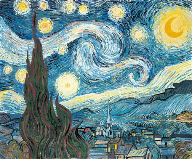 Created by Vincent van Gogh in 1889.