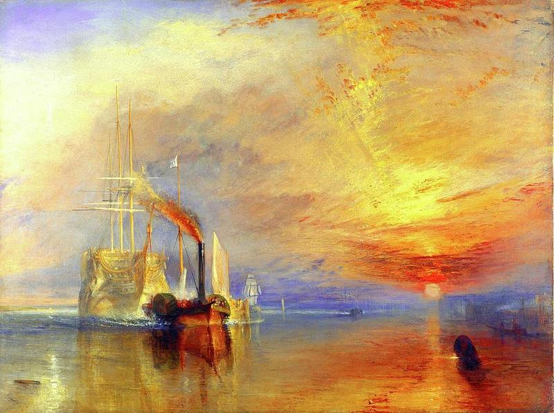 Created by Joseph M. W. Turner in 1839.