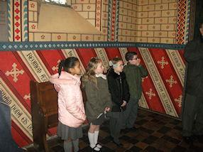 Looking at how Pugin decorated the Cathedral