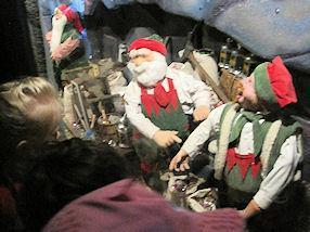 We enjoyed helping the seven dwarfs in their mine.