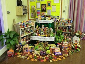 The Harvest display.