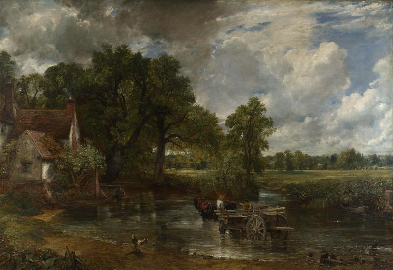 Created by John Constable in 1821.