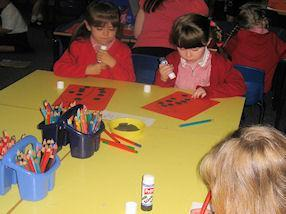 We enjoyed making our own ladybirds.