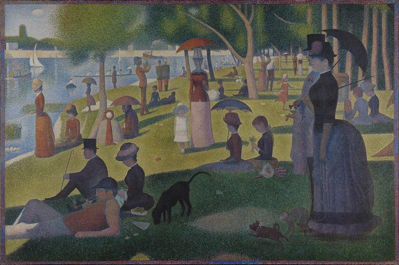 Created by Georges Seurat from 1884 to 1886.