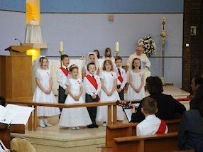Our Year 3 psalm singers.