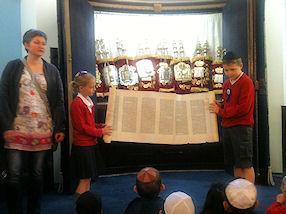 Every Torah Scroll is written by hand