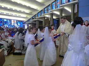 The Offertory Procession.