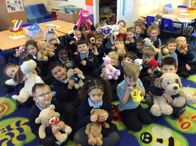 All of our teddies!