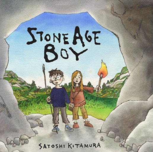 Our new English topic is based around the book Stone Age Boy.