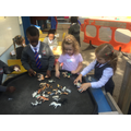 We enjoyed exploring different farm animals.