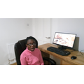 Abake, 6CS created an internet safety speech which she filmed.