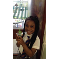 We had to water our cress to make it grow