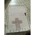 Francia Easter card