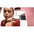 Matilda, 6CS gave a 'safer internet speech' and recorded it.