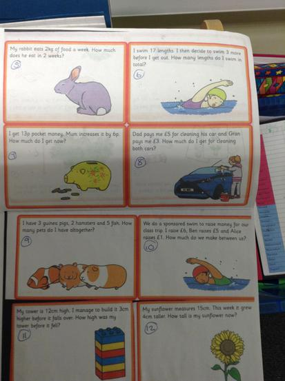 Word problem examples.