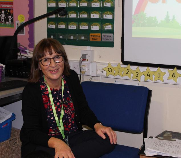 Mrs V Taylor-Wrigley-Reception Teacher