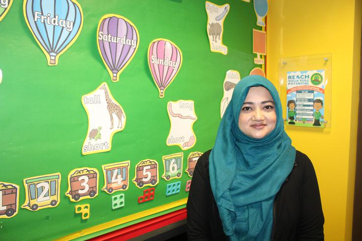 Mrs R Begum-Teaching Assistant
