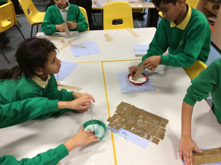 Making 'papyrus'