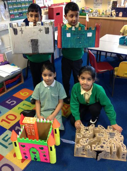 A few examples of our amazing castles!