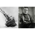 Ernest Shackelton and his ship, The Endeavour
