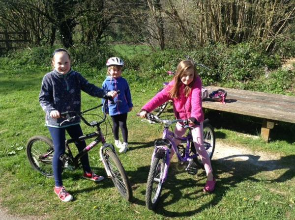 Sponsored bike ride along the Camel Trail.