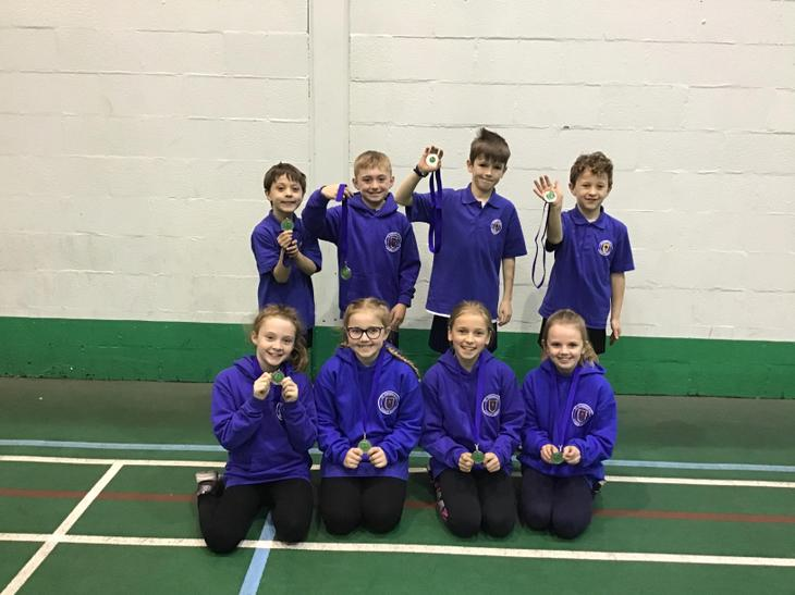 Yr 3/4 Rossendale Cricket runners-up. Well done!