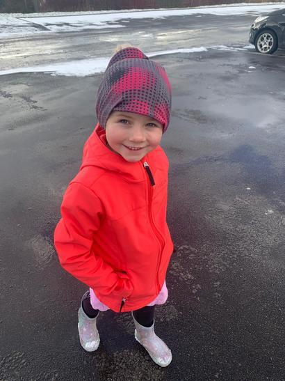 Annie went on a winter walk