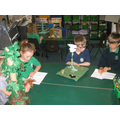 Sharing the story of Jack and the Beanstalk ...