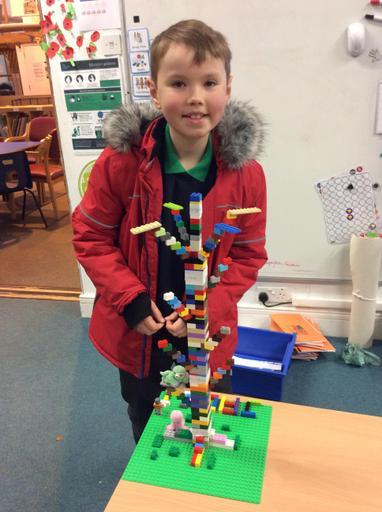 Jack showed his brilliant Lego Kapok Tree