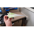 Making paper aeroplanes with modifications #unique