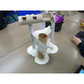 Creating free-standing marble run  structures